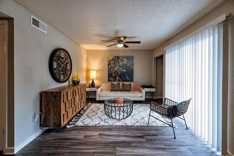 Motif South Lamar Living Room
