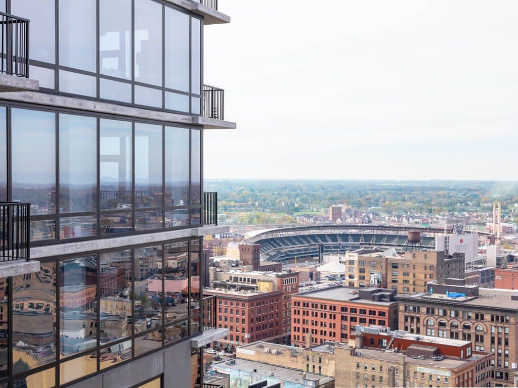 Apartment Downtown Minneapolis Views from 365 Nicollet