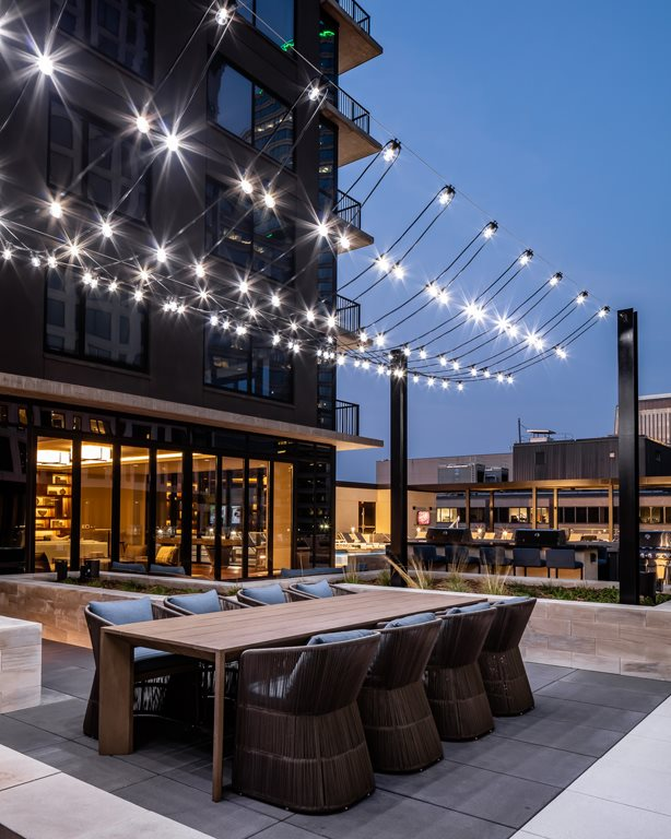 365 Nicollet Outdoor Lounge Area