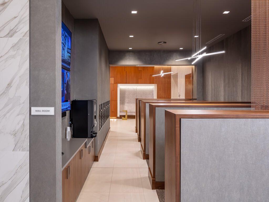 365 Nicollet hallway
