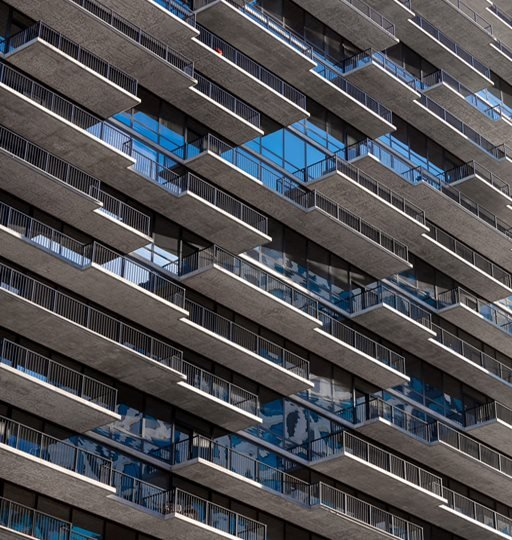 365 Nicollet Apartment Exterior Balconies