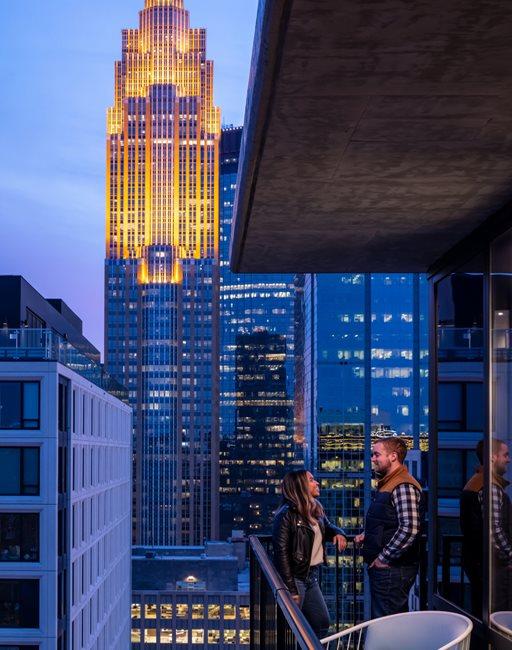 365 Nicollet Apartment Balcony