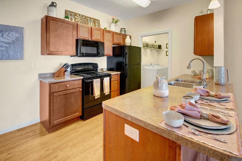 Prairie Pines kitchen