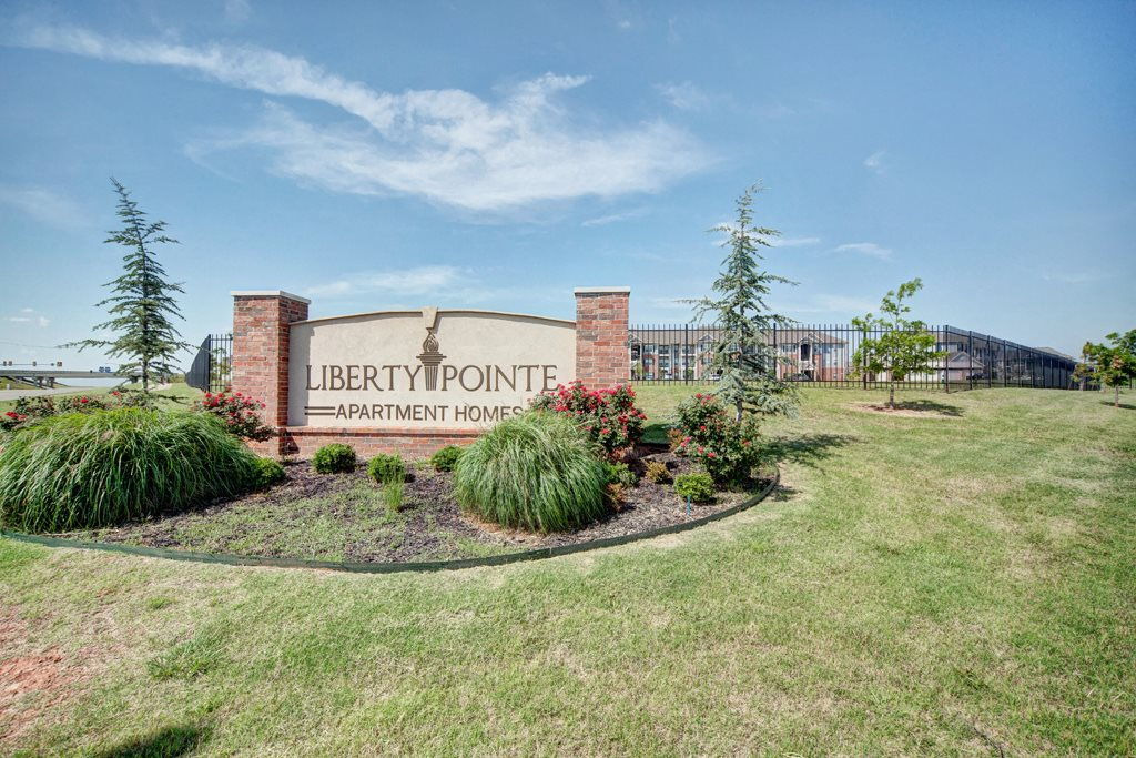 Liberty Pointe Monument Sign