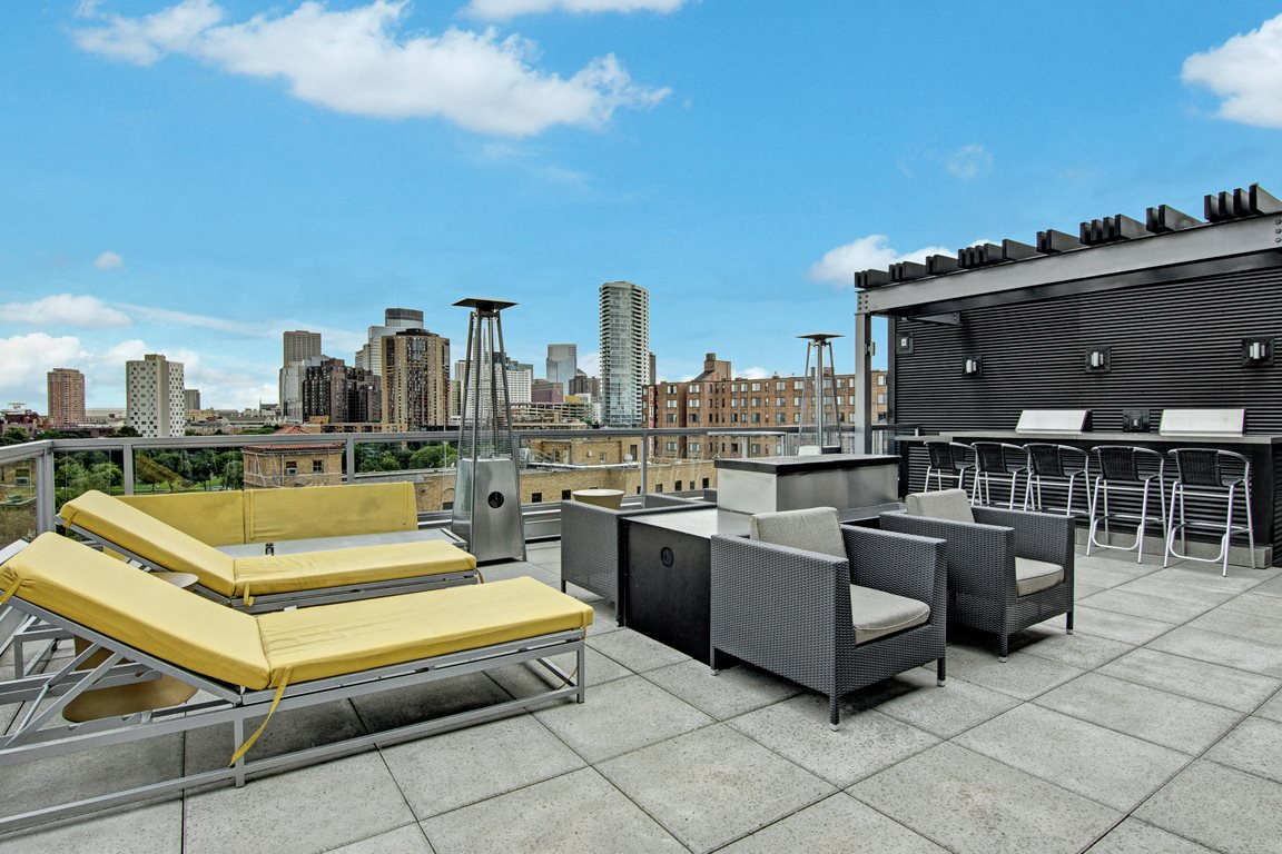 Vue Rooftop Seating View