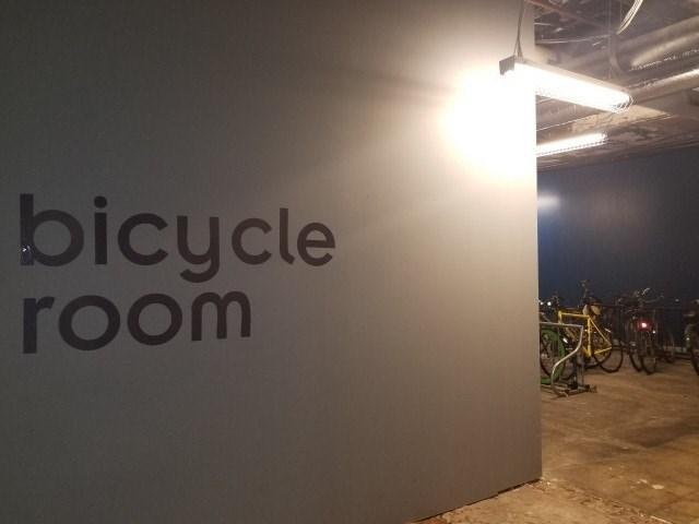 BICYLCE ROOM