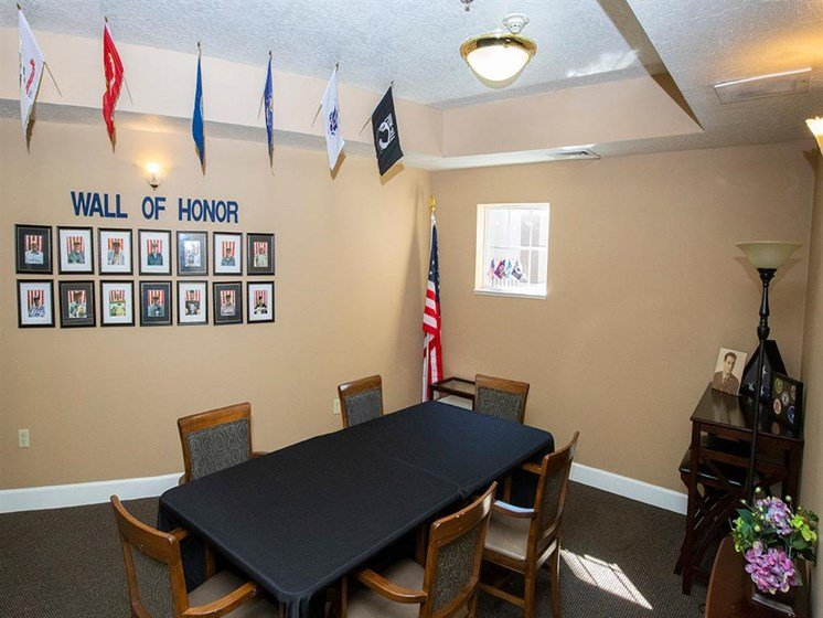 We Honor Our Veterans! at Hibiscus Court, Melbourne, Florida