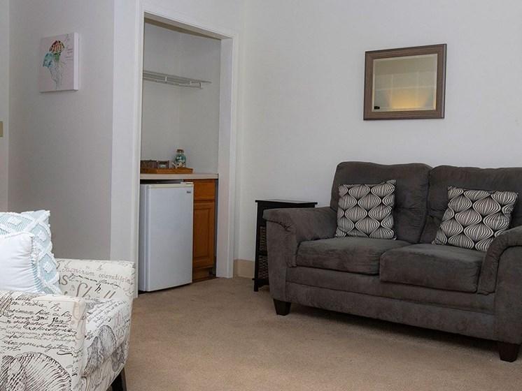 Comfortable Sofa at Savannah Court of Maitland, Maitland, 32751