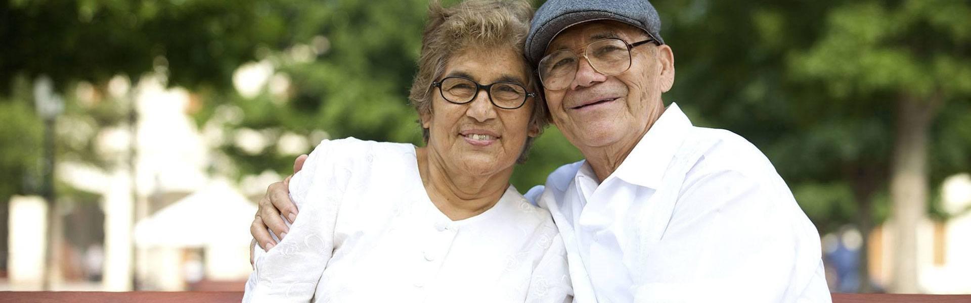 Happy Senior Couple at Savannah Court of Bartow, Bartow, 33830