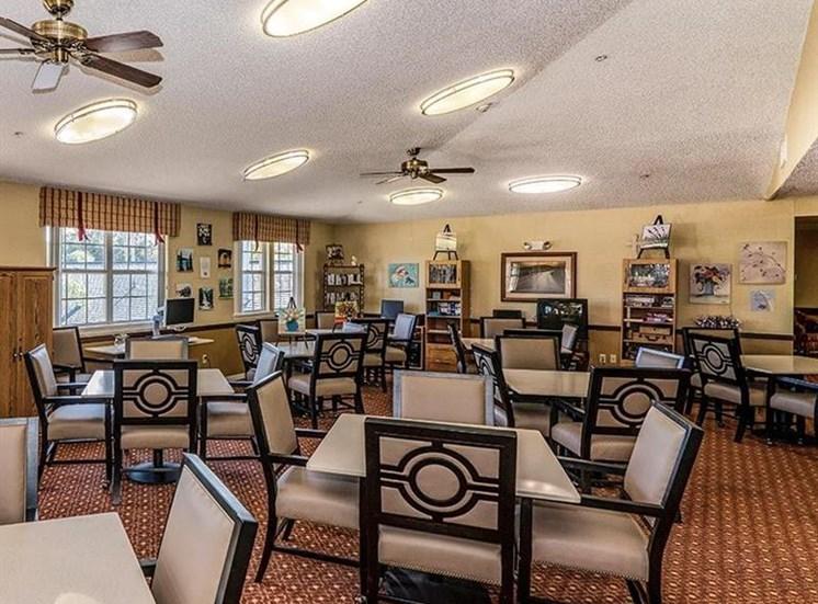 Dining Hall at Sun City Senior Living, Florida, 33572