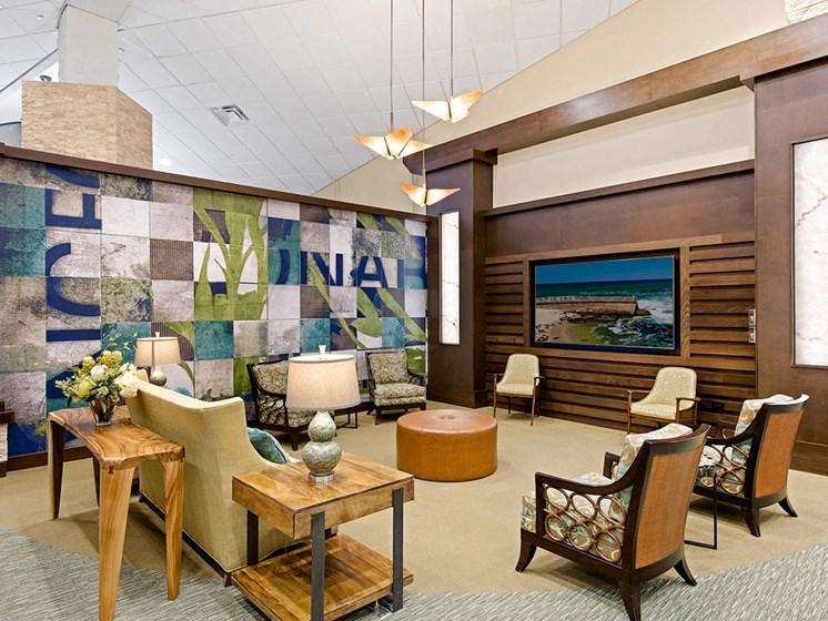 Spacious Sitting Room at Meridian at Laguna Hills, California