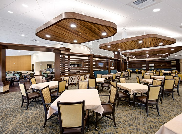 Defined Dining Space at Meridian at Laguna Hills, California, 92653