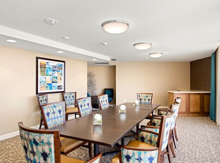 Classic Dining Area at Meridian at Laguna Hills, Laguna Hills, 92653