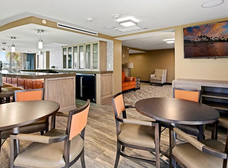 Courtyard With Ample Sitting at Meridian at Laguna Hills, Laguna Hills, CA, 92653