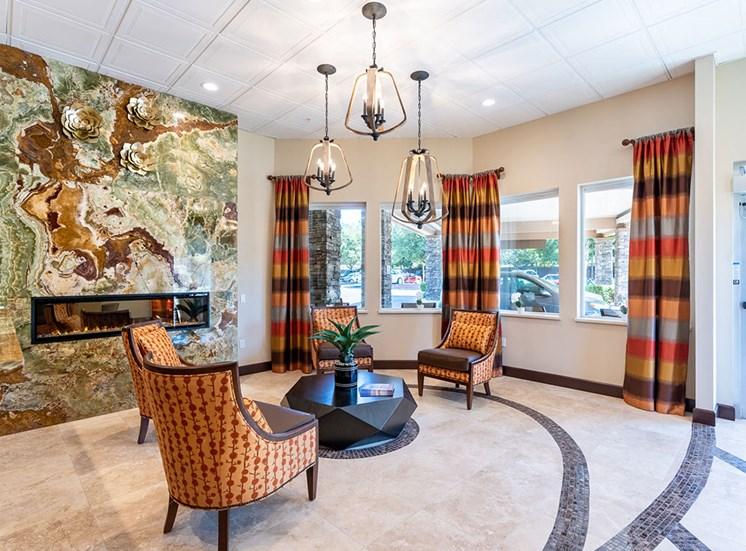 Sleek Interior Finishes at Healdsburg, A Pacifica Senior Living Community, Healdsburg, CA
