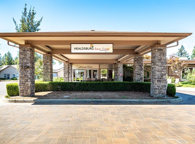 Welcome To Pacifica Senior Living at Healdsburg, A Pacifica Senior Living Community, Healdsburg, CA