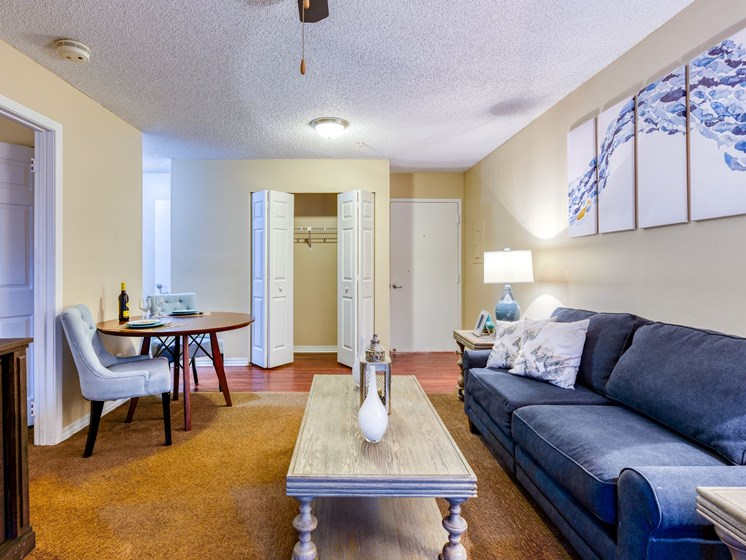Our gorgeously appointed living rooms at Wyndham Lakes.