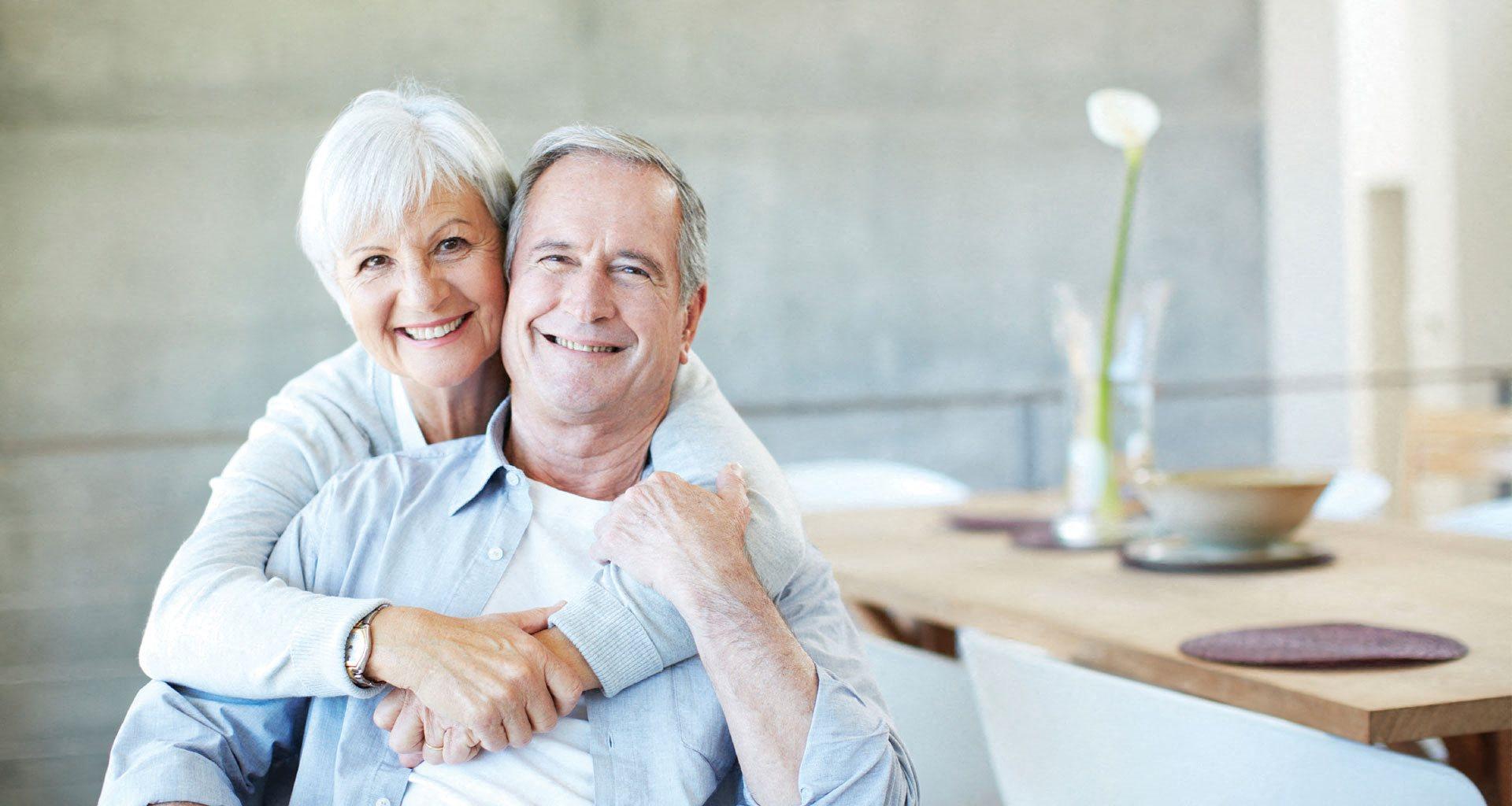 Senior Couple Enjoying A Bit at Pacifica Senior Living Northridge, Northridge, CA,at Pacifica Senior Living Northridge, Northridge, CA, 91325