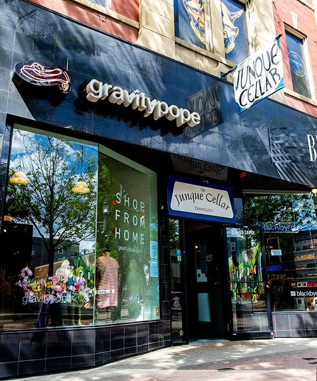 Gravity Pope Junque Cellar Shops and Boutiques Whyte Avenue Old Strathcona