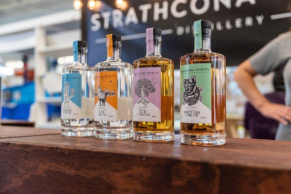 Old Strathcona Spirits Distillery Whyte Avenue Edmonton Alberta