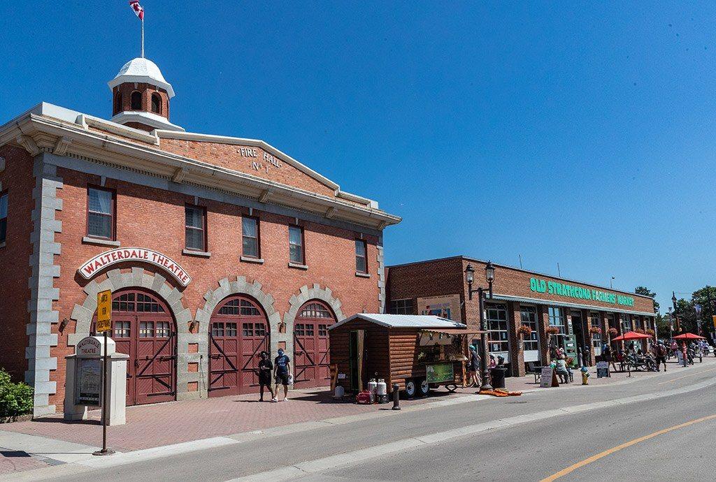 Old Strathcona Farmers Market Grocery Shopping Whyte Avenue Edmonton Alberta