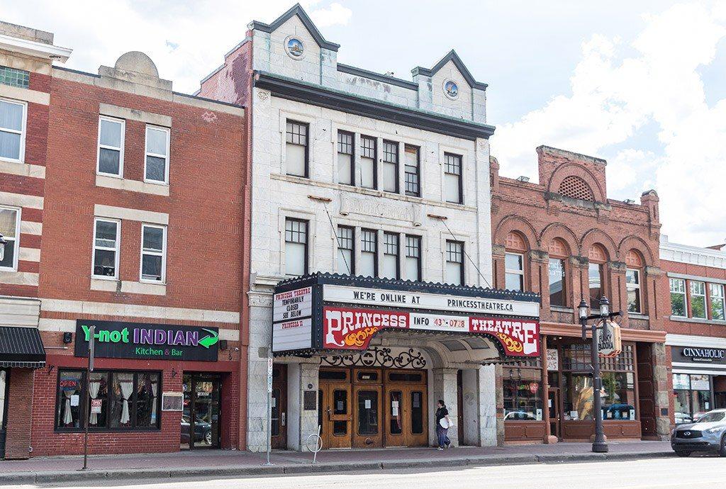Princess Theatre Whyte Avenue Old Strathcona Edmonton Alberta