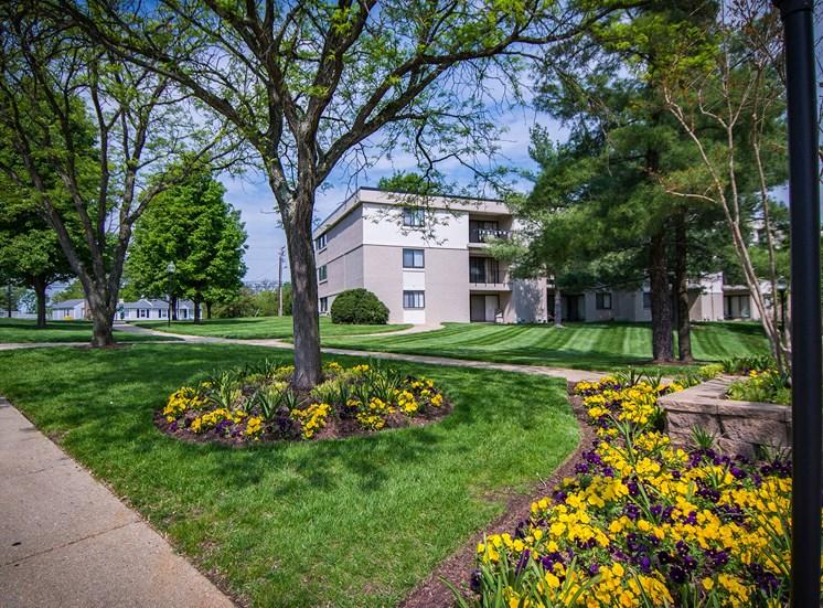 Ashley Apartments Park-like Landscaping Photo