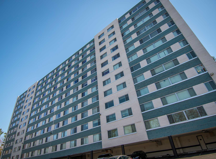 8600 Apartments Building Back 08