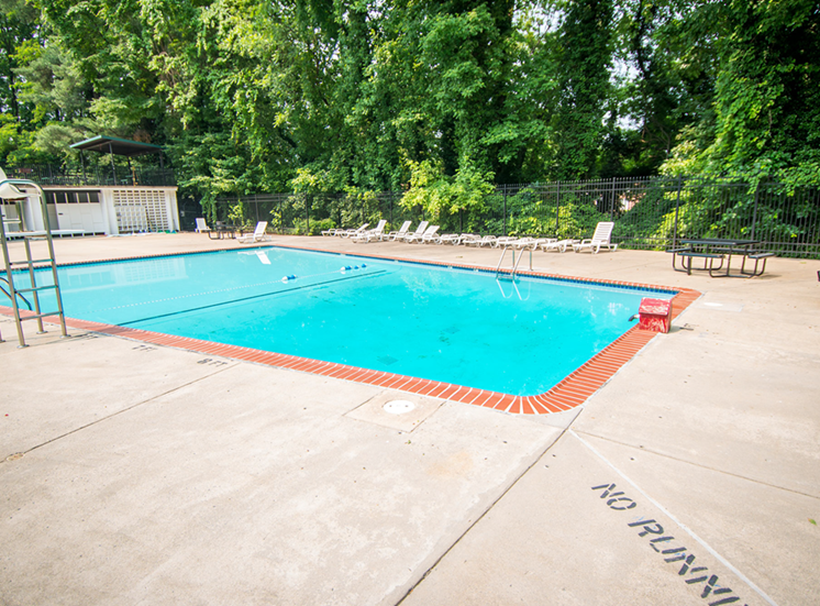 8600 Apartments Pool - No Running