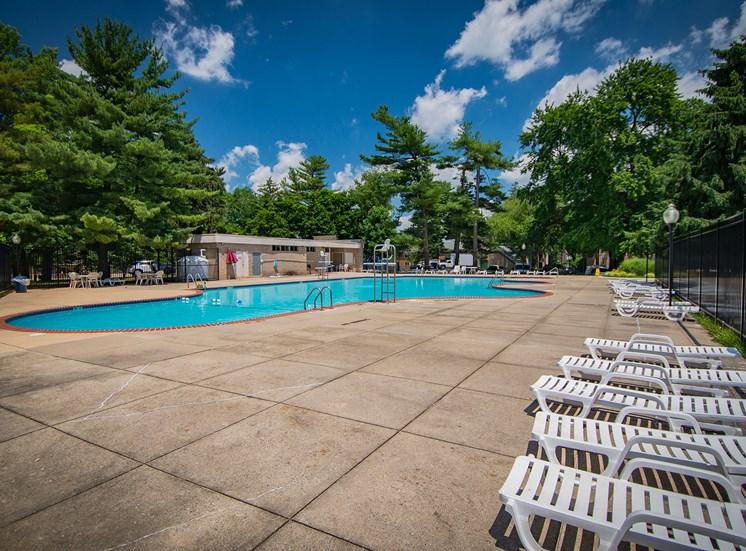Maplewood Villas Apartments Pool 14