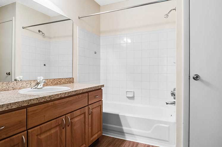 Luxurious Bathroom at Newport Colony Apartment Homes, Casselberry, FL