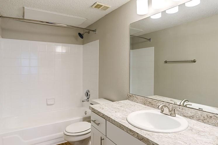 Classic Bathroom at Newport Colony Apartment Homes, Casselberry, FL, 32707