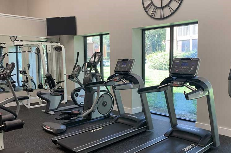 Fitness Center at Newport Colony Apartment Homes, Casselberry, FL, 32707