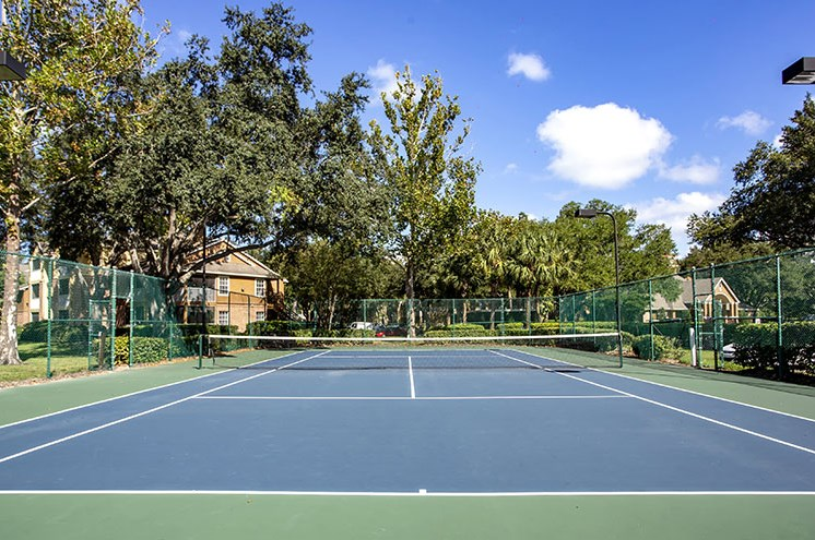 Tennis Courts at Newport Colony Apartment Homes, Casselberry, Florida