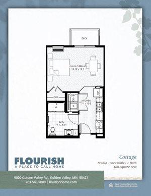 Flourish Apartments In Golden Valley Mn