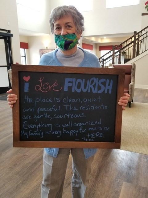 I Love Flourish Because