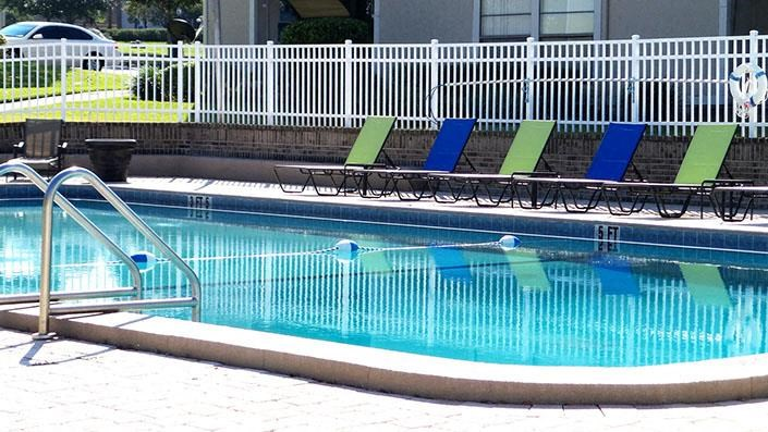 Refreshing Pool  with Pool deck