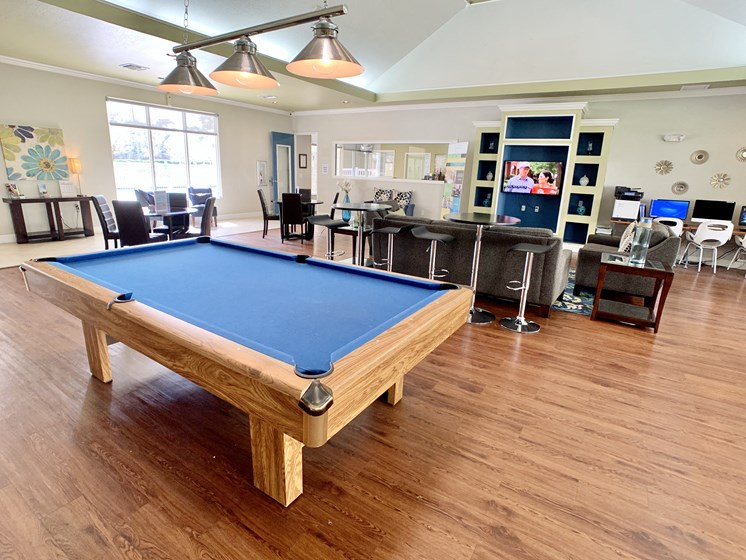 Spacious Clubhouse