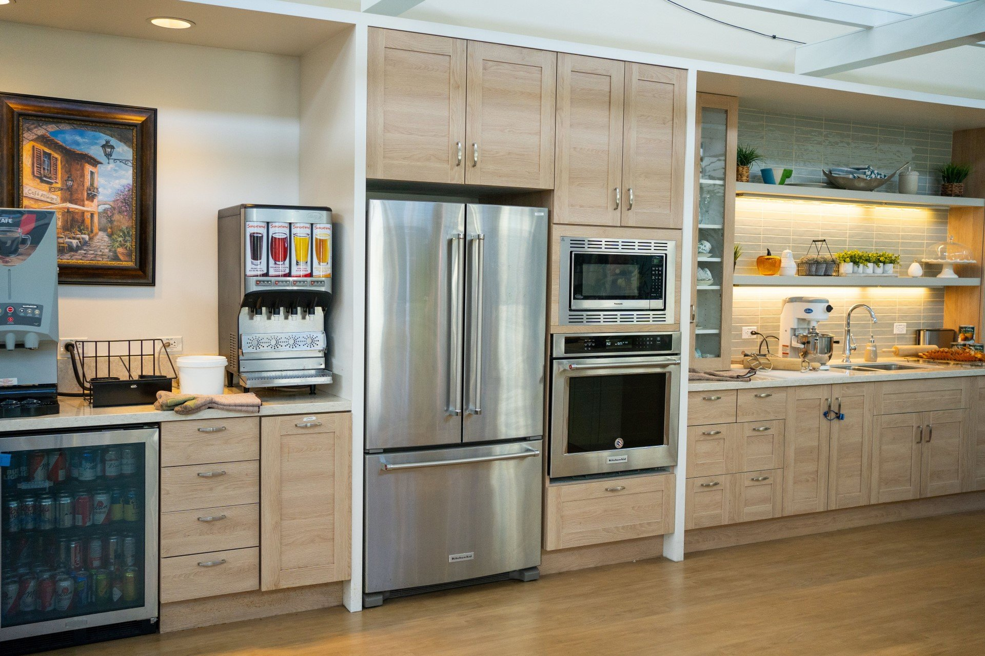 Spruce community features a new demonstration kitchen