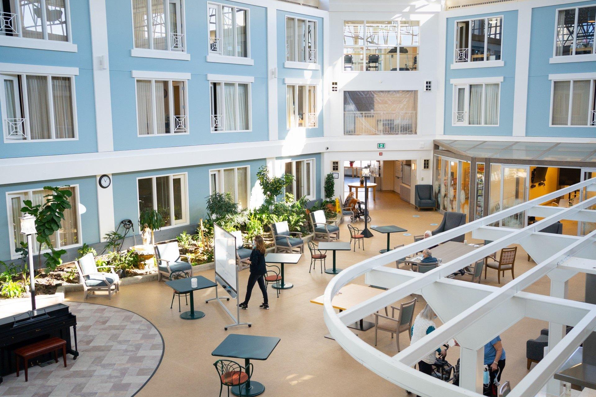 Atrium at Spruce community