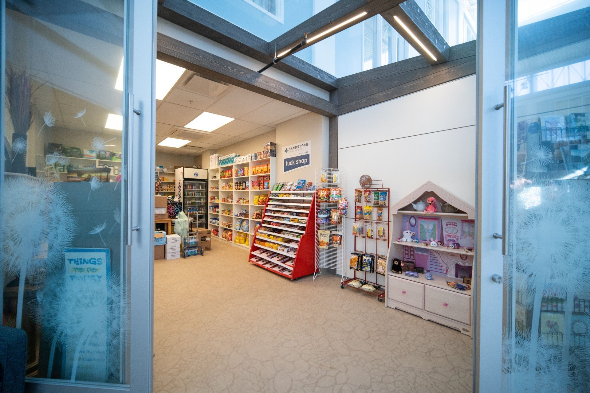Spruce community convenience store