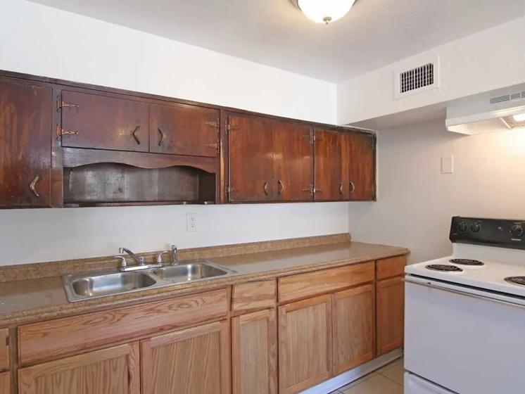 GSJ - brown kitchen