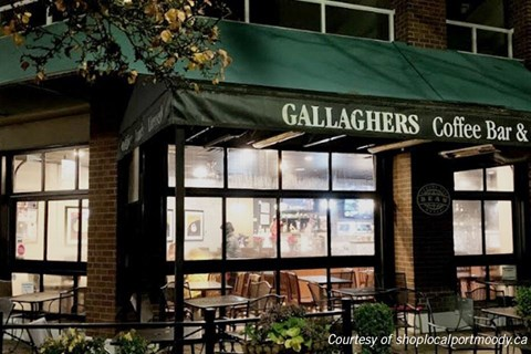 Gallagher's Coffee Bar in Port Moody, BC