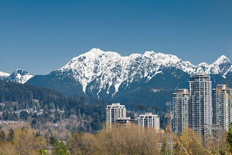 Inlet Glen Apartments in Port Moody, BC suites facing the mountains