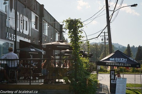Moody Ales Brewery in Port Moody, BC