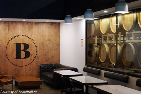 The Bakery Brewing in Port Moody, BC
