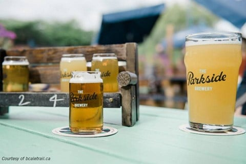 The Parkside Brewery in Port Moody, BC