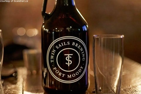 Twin Sails Brewery in Port Moody, BC