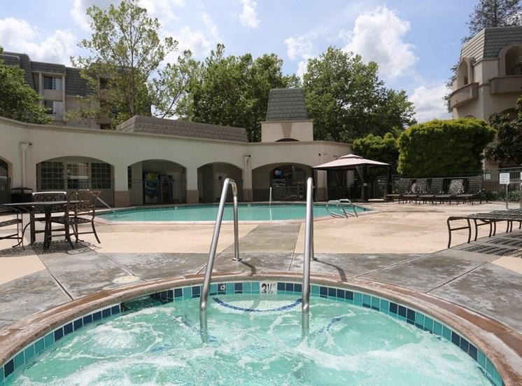 Park Regency's Pool area