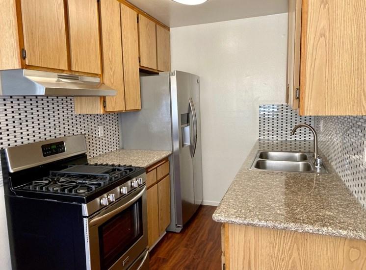 Woodman Place Apartment Kitchen